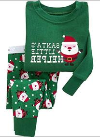 "Babyroom ""Santa Claus"" little boys sleepwear Christmas"