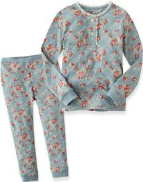 Vaenait Baby Kids Girls 2pcs Long Sleeve Pajama Sleepwear