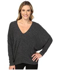 HEATHER - Long Sleeve Slouchy Wedge Top  Women's Clothing