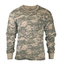 Rothco Long Sleeve T-Shirt/ACU Digital Camo - 4X