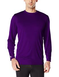 Russell Athletic Men's Long Sleeve Performance Tee, Purple,