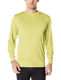 Russell Athletic Men's Long Sleeve Performance Tee, GT Gold
