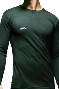 Jeep Men's 1 Pack Long Sleeved Thermal T-Shirt Medium Black