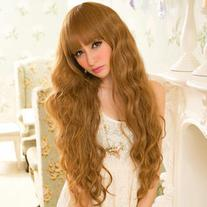 Long Full Wig - Curly