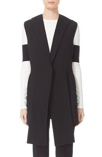 Women's Narciso Rodriguez Long Wool Pique Vest
