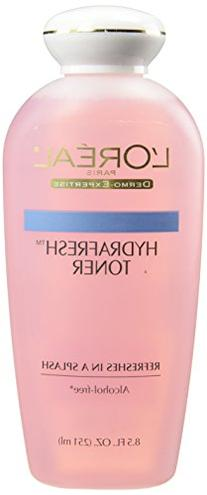 L'Oreal Paris Hydrafresh Toner 8.5 oz
