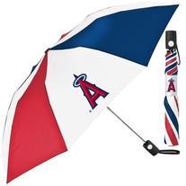 Los Angeles Angels MLB Automatic Folding Umbrella
