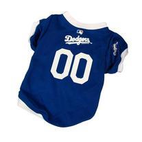 Los Angeles Dodgers MLB Dog Jersey Medium