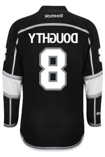 Los Angeles Kings Drew DOUGHTY #8 Official Home  NHL Hockey