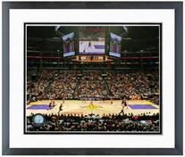 "Los Angeles Lakers Staples Center NBA Photo 12.5"" x 15.5"""