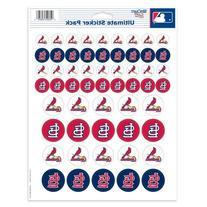 """MLB St. Louis Cardinals Vinyl Sticker Sheet, 8.5"""" x 11"""
