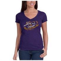 Louisiana State LSU Tigers 47 Brand NCAA Scrum Purple Womens