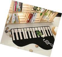 Lovely piano Door Mat Kitchen Bathroom Mat Carpet Bath Mats