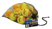 Tourna Low Compression Stage 2 Tennis Ball with Mesh Bag