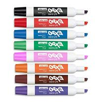 EXPO Low-Odor Dry Erase Set, Chisel Tip, Assorted Colors, 8-