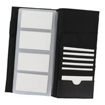 Rolodex Low-Profile Business Card Book, 96-Card, Black