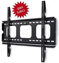 Mount-It! Low Profile Fixed TV Wall Mount Bracket for 32, 34