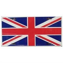 LP - 507 Britain Flag License Plate - 477