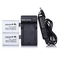 Powerextra 2 Pack 7.4V 1800mAh Replacement Canon LP-E5