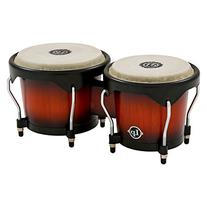 Latin Percussion LP601NY-VSB LP City Wood Bongos - Vintage