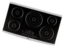 """LSCE365ST 36"""" Wide Smoothtop Electric Cooktop with 5 Radiant"""