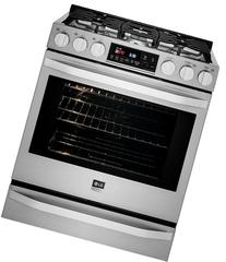 """LSSG3016ST 30"""" Gas Slide-In Range with 6.3 cu. ft. Oven  0.8"""