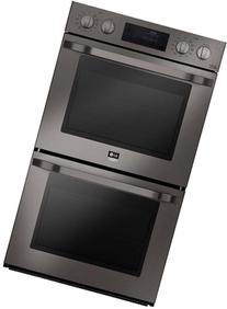 """LSWD309BD 30"""" Double Wall Oven with Two 4.7 cu. ft. Capacity"""