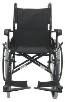 Karman Healthcare LT-980-BK-E Aluminum Ultra Lightweight