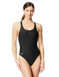 Speedo Women's Pro LT Super Pro Swimsuit, Black, 30