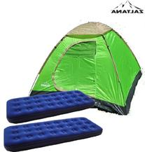 Zaltana lta3person Dome Tent with 2pcs Single Size Air Bed
