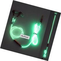 EI COOL Light Headphones Earphones Headset Luminous zipper