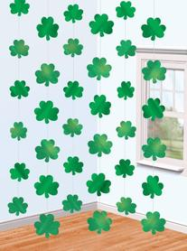 Amscan Lucky Irish Green St. Patrick's Day Shamrock Foil