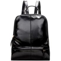 LUCLUC Black Shoulder Backpacks Bag