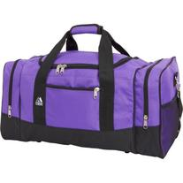 Everest Luggage Sporty Gear Bag - Large,One Size,Purple/