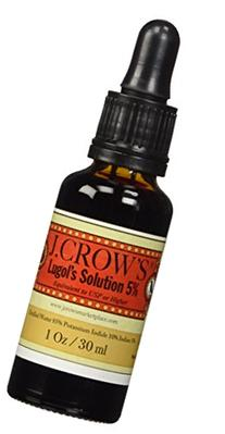 J.CROW'S Lugol's Solution of Iodine 5% the Trusted Original