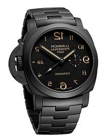 Panerai Men's Swiss Quartz Stainless Steel Casual Watch,