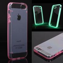 Luminous Style Glowing Hard Bumper Skin Back Case Cover For