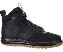 Nike Men's Lunar Force 1 Duckboot Black/Black/Metallic