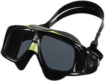Aqua Sphere Seal 2.0 Goggles with Smoke Lens, Black/Green