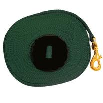 Intrepid International Lunge Line with Rubber Stopper, Black