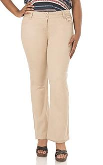 WallFlower Juniors Plus Size Luscious Curvy Bootcut Chino