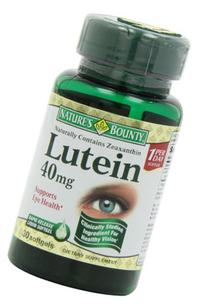 Nature's Bounty Lutein 40 mg Softgels