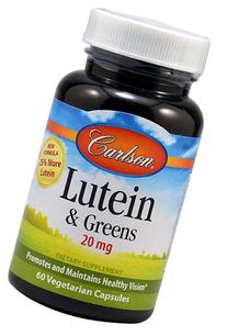 Carlson Lutein W/ Kale 20mg, 60 Capsules