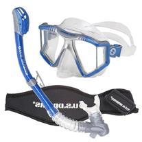 U.S. Divers Lux Purge Grenada LX Snorkel Mask