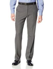 Perry Ellis Men's Travel Luxe Modern Fit Bead Stripe Pant,