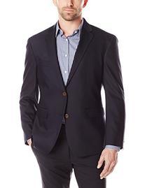 Louis Raphael Men's Luxe Slim Fit 2 Button Side Vent Blazer