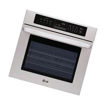 "LG LWS3010ST 30"" Single Wall Oven with Crisp Convection in"