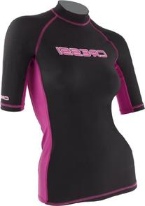 Cressi Lycra Skin Short Sleeve Rash Guard, Womens - X-Large