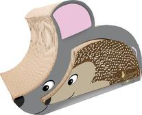 M.A.X. Mouse/hedgehog Cat Scratching Pad