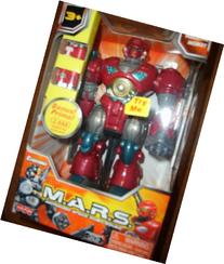M.A.R.S. Motorized Attack Robo Squad - Red Robot by